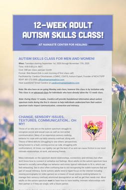 Autism & Intimacy Web Classes