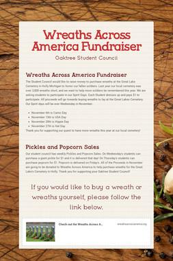 Wreaths Across America Fundraiser