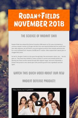 Rodan+Fields NOVEMBER 2018