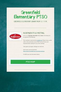 Greenfield Elementary PTSO