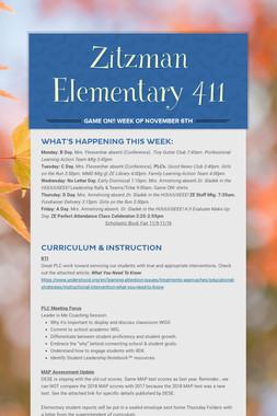 Zitzman Elementary 411