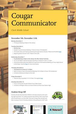 Cougar Communicator
