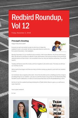 Redbird Roundup, Vol 12