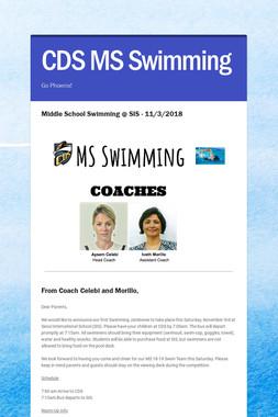 CDS MS Swimming