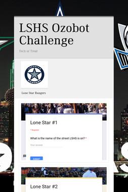 LSHS Ozobot Challenge