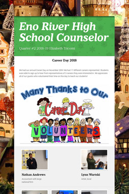 Eno River High School Counselor