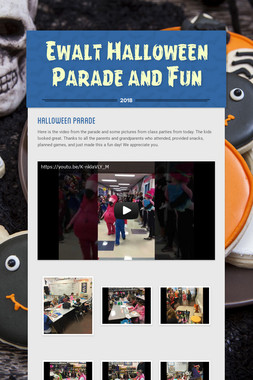 Ewalt Halloween Parade and Fun