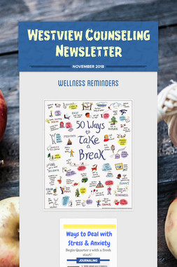 Westview Counseling Newsletter
