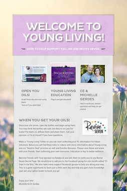 Welcome to Young Living!
