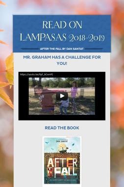 READ ON LAMPASAS 2018-2019