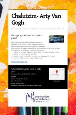 Chalutzim- Arty Van Gogh