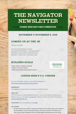 The Navigator Newsletter