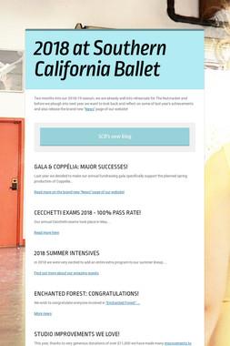2018 at Southern California Ballet