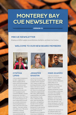 Monterey Bay CUE Newsletter