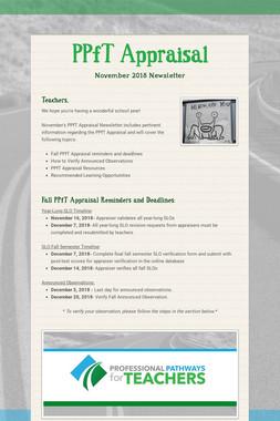 PPfT Appraisal