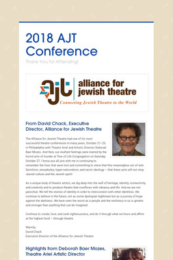 2018 AJT Conference