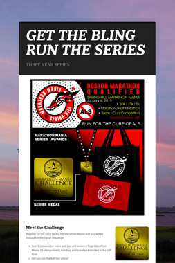 GET THE BLING RUN THE SERIES