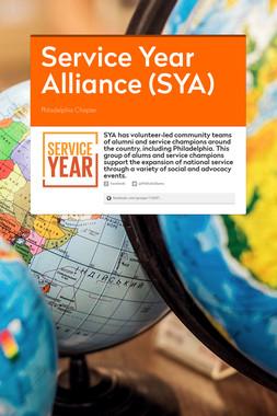Service Year Alliance (SYA)