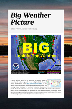 Big Weather Picture