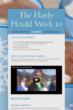 The Hardy Herald Week 10