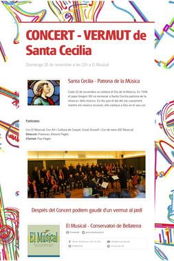 CONCERT - VERMUT de Santa Cecilia