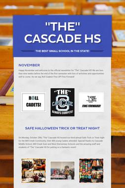 """The"" Cascade HS"