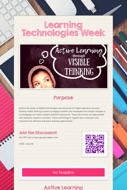 Learning Technologies Week