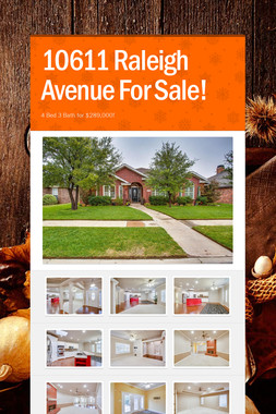 10611 Raleigh Avenue For Sale!