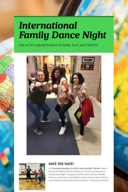 International Family Dance Night