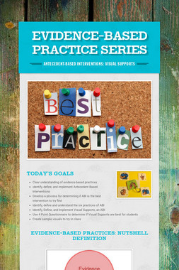 Evidence-Based Practice Series