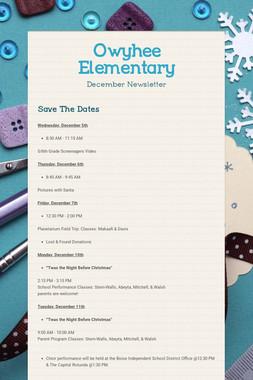 Owyhee Elementary