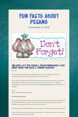 Fun Facts About Pecans