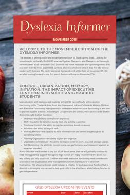 Dyslexia Informer