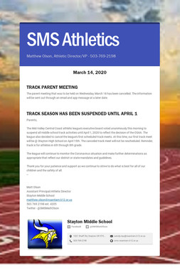 SMS Athletics