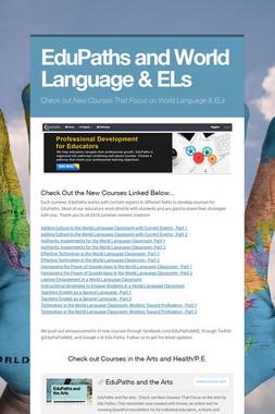 EduPaths and World Language & ELs