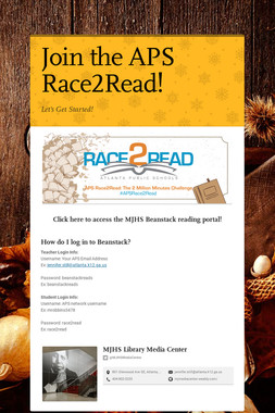 Join the APS Race2Read!