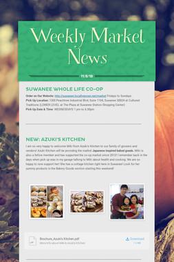 Weekly Market News