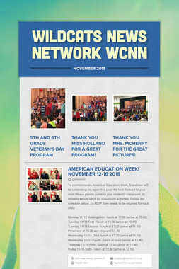 Wildcats News Network WCNN