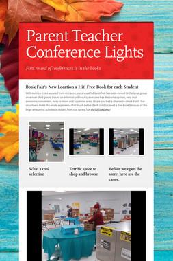 Parent Teacher Conference Lights
