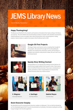 JEMS Library News
