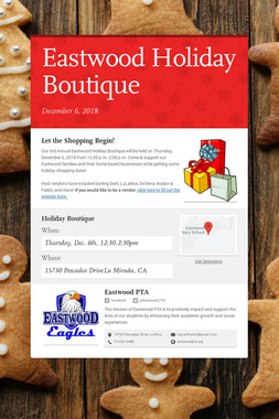 Eastwood Holiday Boutique