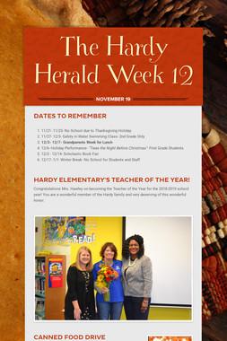 The Hardy Herald Week 12
