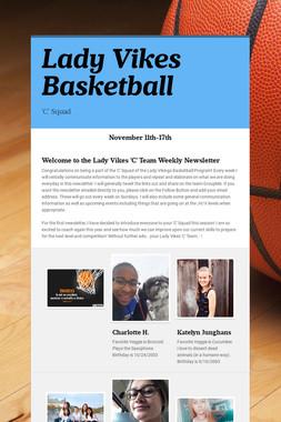 Lady Vikes Basketball