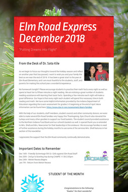 Elm Road Express December 2018
