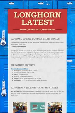 Longhorn Latest