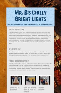 Mr. B's Chilly Bright Lights