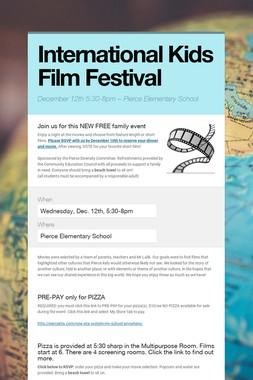 International Kids Film Festival