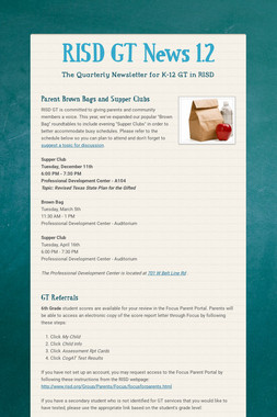 RISD GT News 1.2