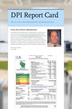 DPI Report Card