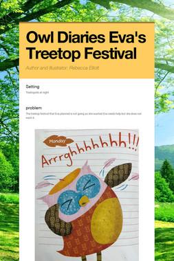 Owl Diaries Eva's Treetop Festival